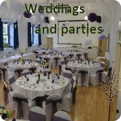 Weddings and parties